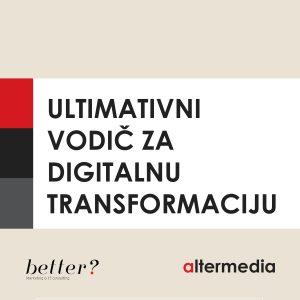 vodic za digitalnu transformaciju